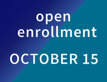 Open Enrollment October 15