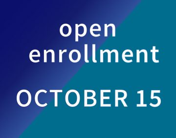 Open Enrollment October 15